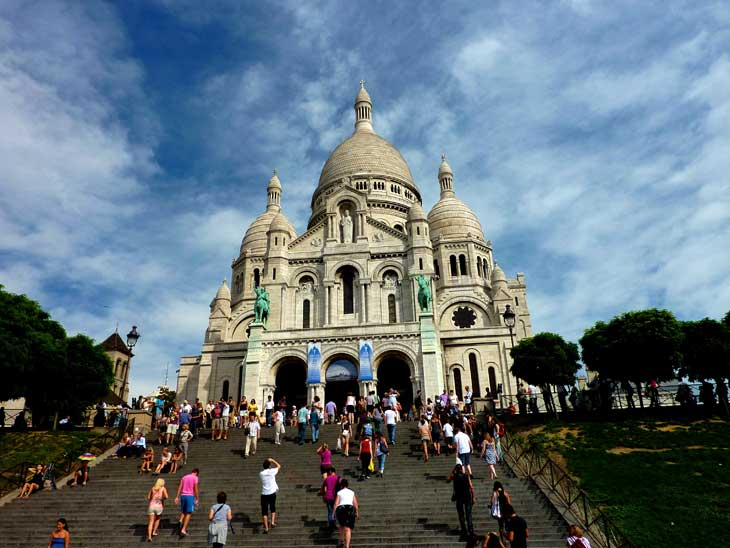 Sacre Couer in Paris.