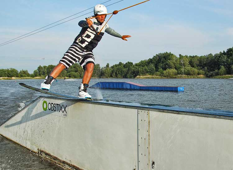 Wakeboarding teaches you how to keep cool. Great addition to any trip!