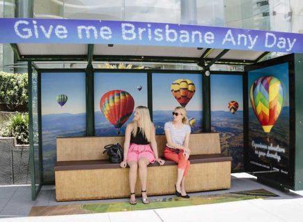 Brisbane bus stop