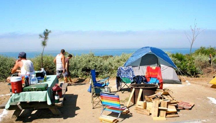 Anjuna Beach Camping
