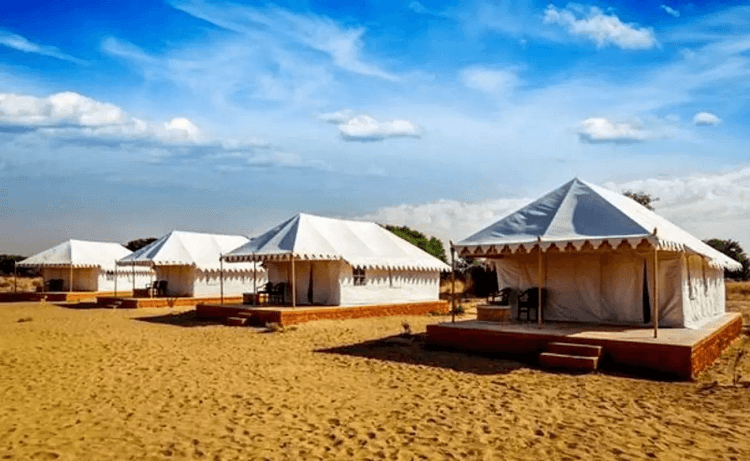 Pushkar Camping