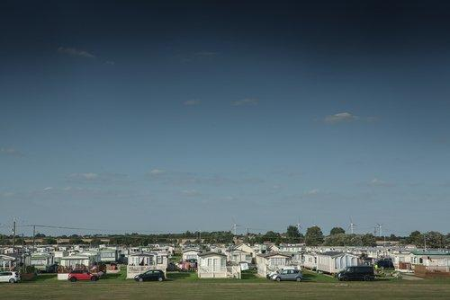 UK Holiday Caravan Park.