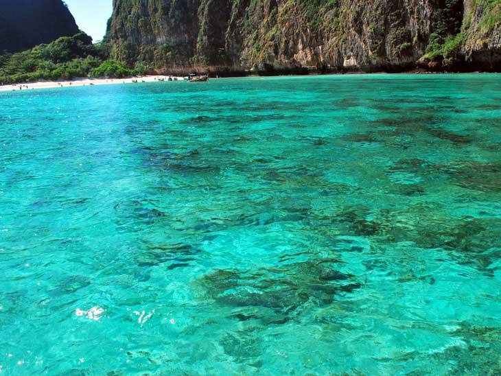 Coral Island outside Phuket.