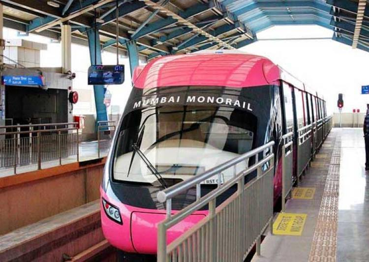 Mumbai Monorails in India.