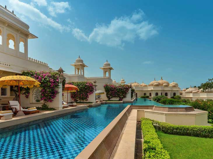 Oberoi Rajvilas in Jaipur.