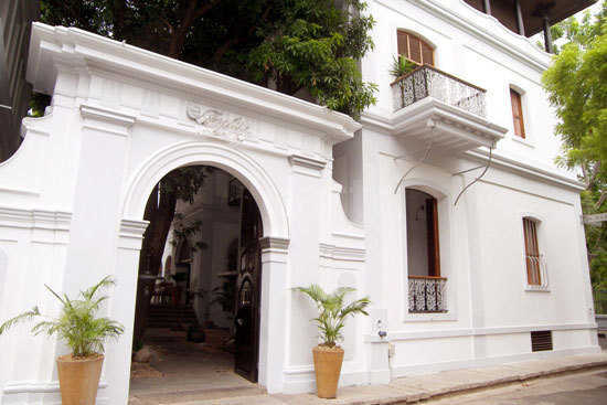 Le Dupleix in Pondicherry.