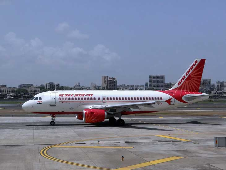 An Air India plane that actually made it to Mumbai.