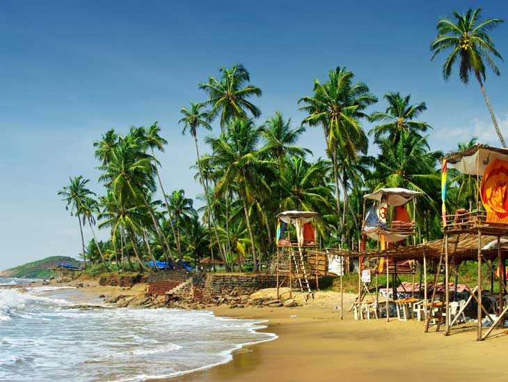 Goa´s idyllic beaches are world famous.