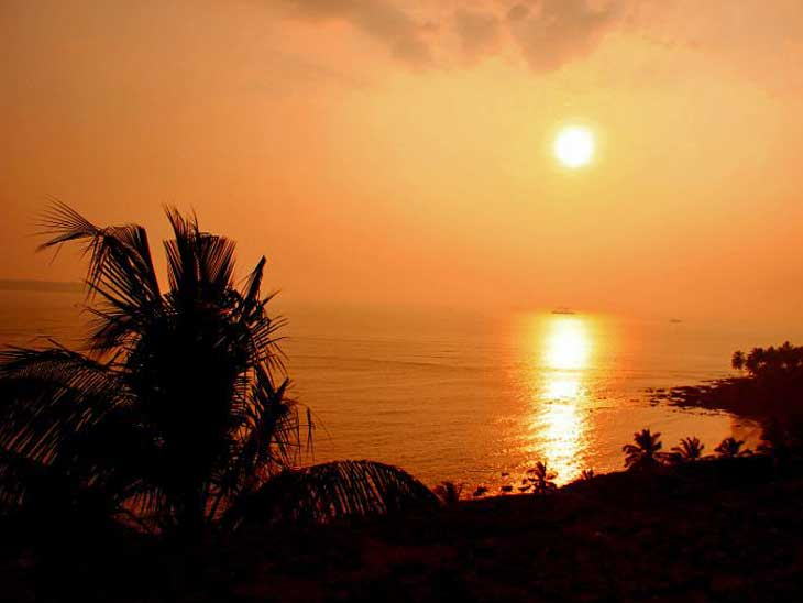 Sunset at Reis Magos Fort in Goa.